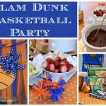 Slam Dunk Basketball Party