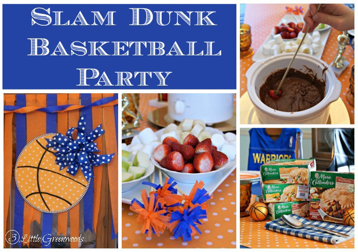 Celebrate the basketball players in your life with a Slam Dunk Basketball Party! Tips for