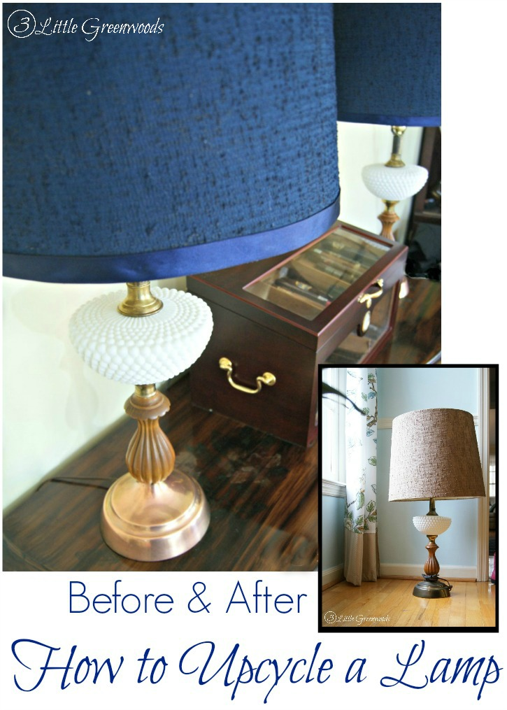 Diy Lamp Shade With A Sweater 3 Little Greenwoods
