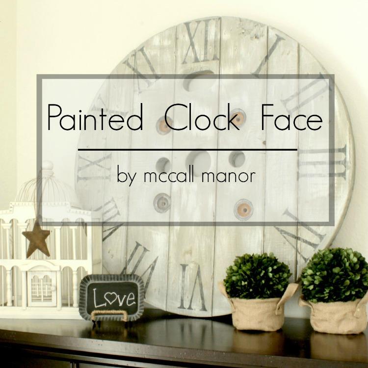 MM Clock Face Label
