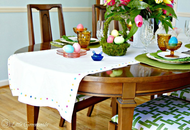 Easter Table Runners Photo Album - The Miracle of Easter