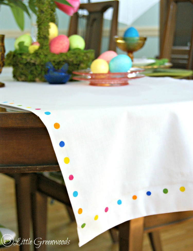 Easter Table Runner Photo Album - The Miracle of Easter