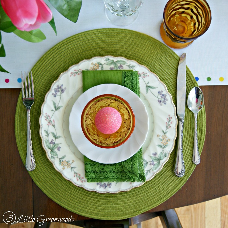 WONDERFULLY Thrifty Table Setting Ideas for Easter! Ways to Save on holiday decor! # & Thrifty Table Setting Ideas for Easter