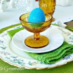 Thrifty Table Setting Ideas for Easter