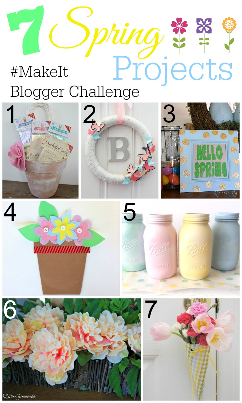 Spring #Make It Blogger Challenge