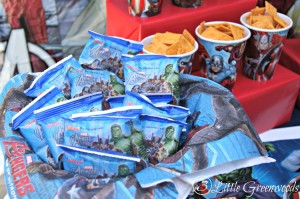 Need to plan an Avengers Party or Superheroes Party in a hurry? You will LOVE this Avengers Movie Marathon party plan for simple party decor, yummy Superheroes treats, and fun games! #AvengersUnite #CBias