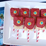 Easy Avengers Party Ideas ~ Iron Man Birthday Treats