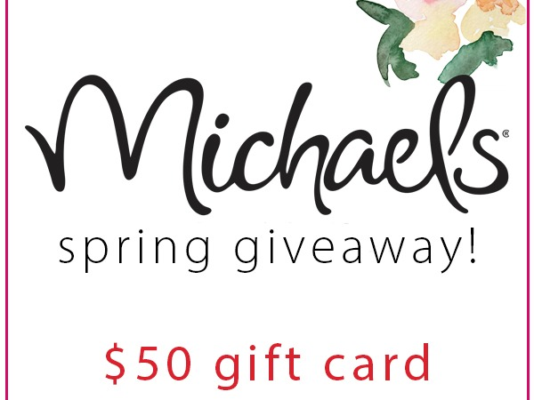 Michael's Spring Giveaway from My Crafty Spot