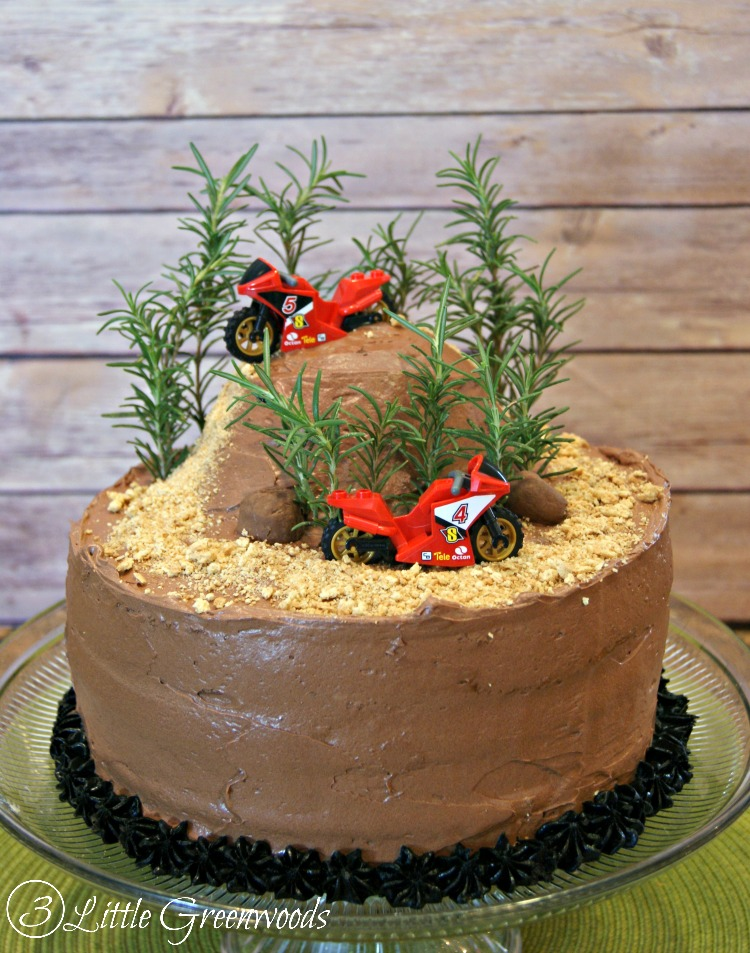 Diy Dirt Bike Birthday Cake