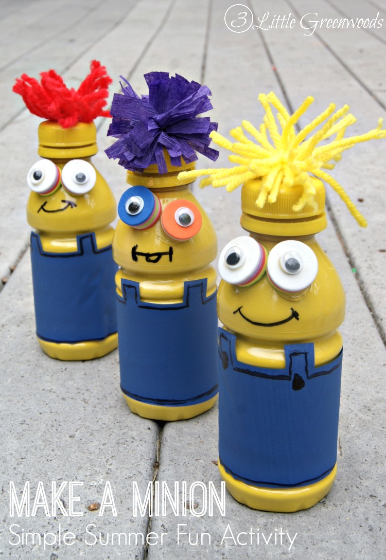 Looking For Simple Summer Fun Activities Kids Spend The Day Making These Minions