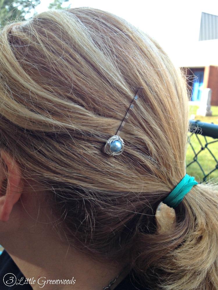 DIY Hair Accessory & Pick Me Up Bag 8