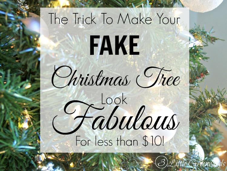 Where To Buy A Fake Christmas Tree