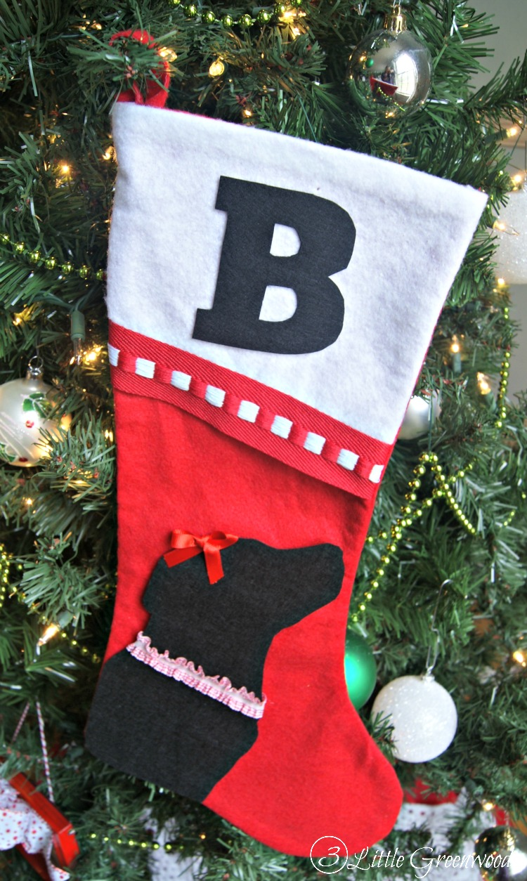no sew christmas stockings for pets