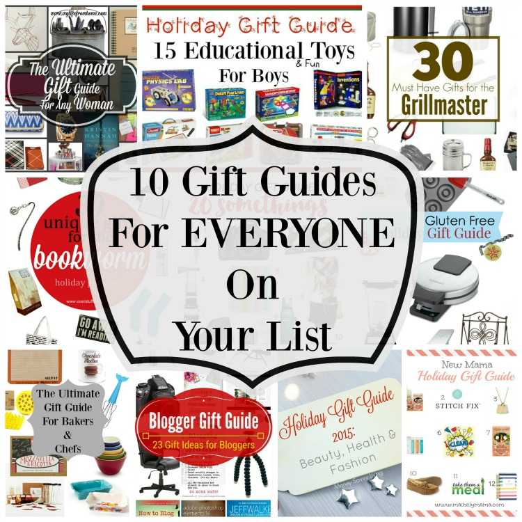 10 Gift Guides for Everyone on your List // 3 Little Greenwoods