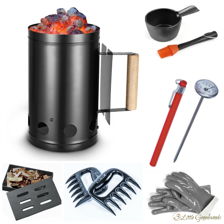 Over 30 Gift Ideas for the Grillmaster! Gift Guide for Men ~ What he REALLY want you to give him! Gift Ideas for him for Christmas, Father's Day, or Birthday // 3 Little Greenwoods