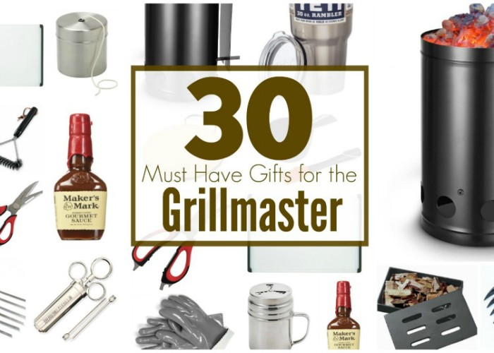 Must Haves Gifts for the Grillmaster