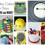 DIY Birthday Cakes for Boys ~ That YOU can make!