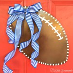 How to Make a Football Door Hanger