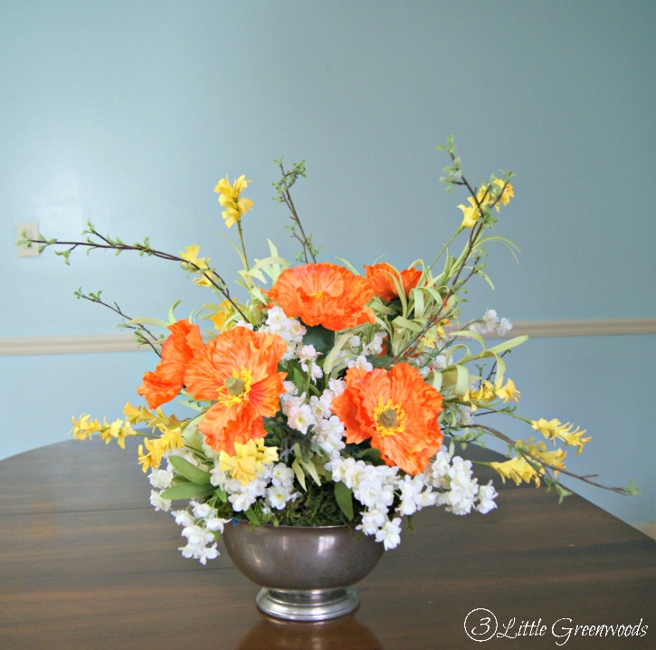 how to make a floral arrangement for spring