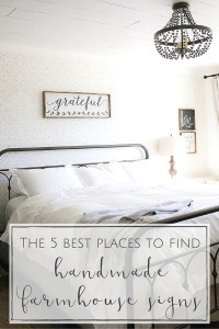 The Best 5 Places to Find Farmhouse Signs