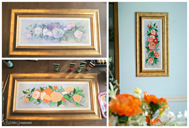 DIY Wall Art with a DIY Paint by Numbers Technique