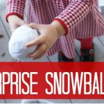 DIY Christmas Gifts for Kids ~ Surprise Snowballs
