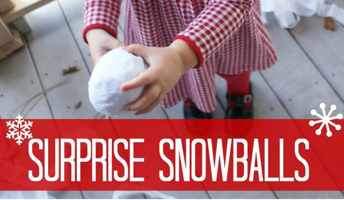 diy christmas gifts for kids surprise snowballs by 3 little greenwoods