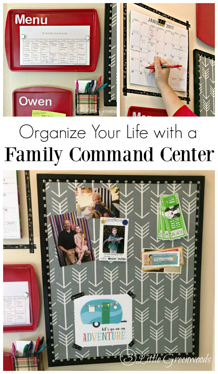 Inexpensive DIY Family Command Center