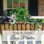 How to Install a Trough Planter
