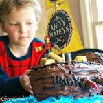 How to Make a Pirate Ship Birthday Cake