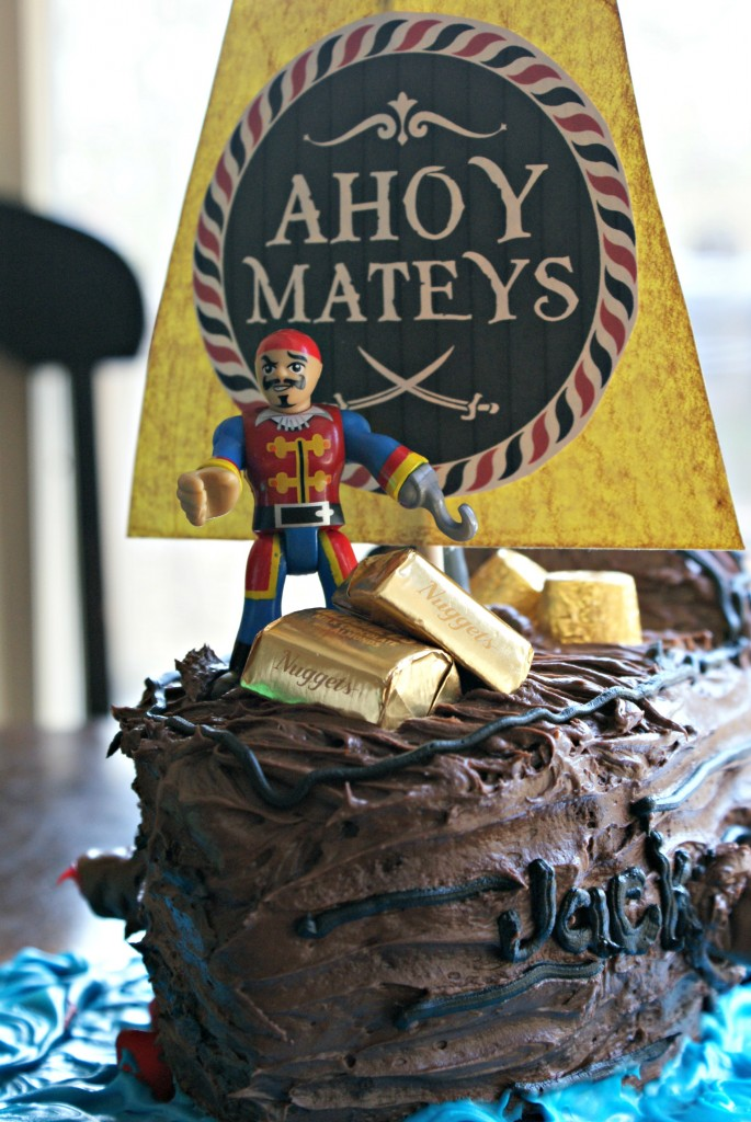 easy pirate cake