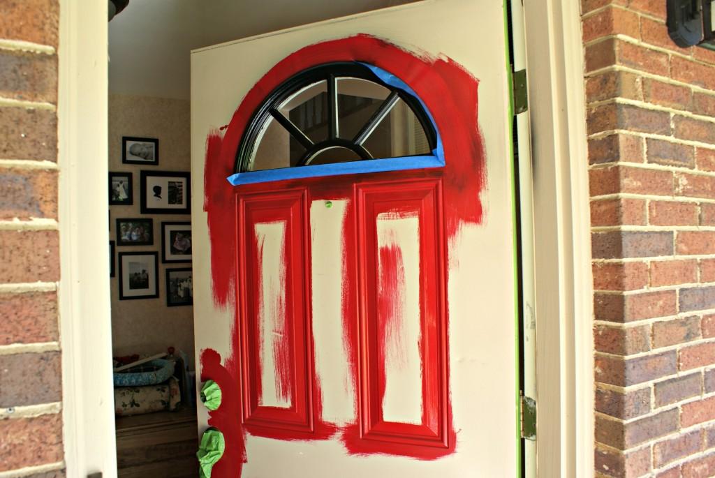 front door face lift @3littlegreenwoods.com