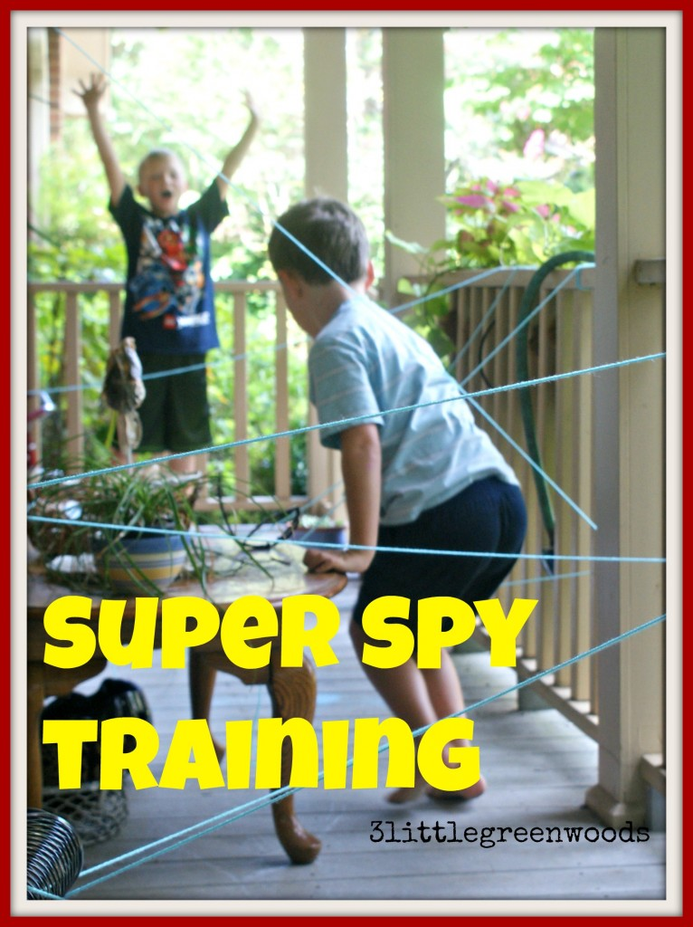 Super Spy Training @ 3littlegreenwoods