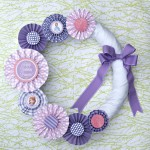 Sofia the First Wreath ~ Birthday Party on a Budget