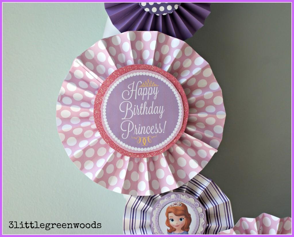 Princess Paper Pinwheels