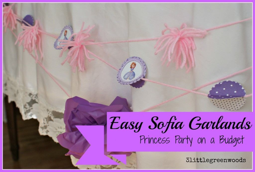 Sofia the First Princess Party on a Budget @ 3littlegreenwoods