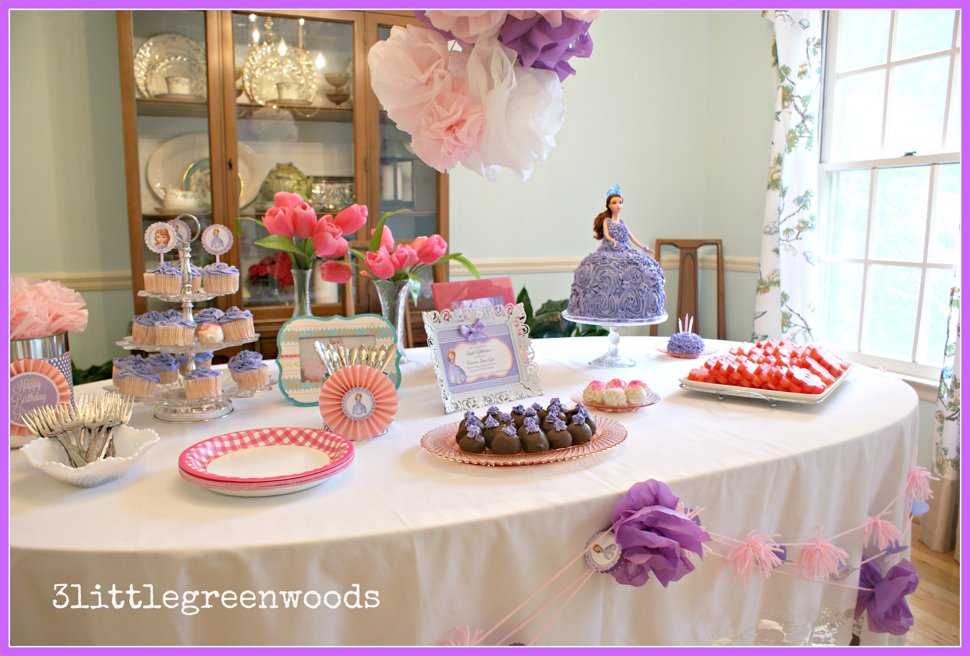 Sofia The First Princess Party On A Budget 3littlegreenwoods