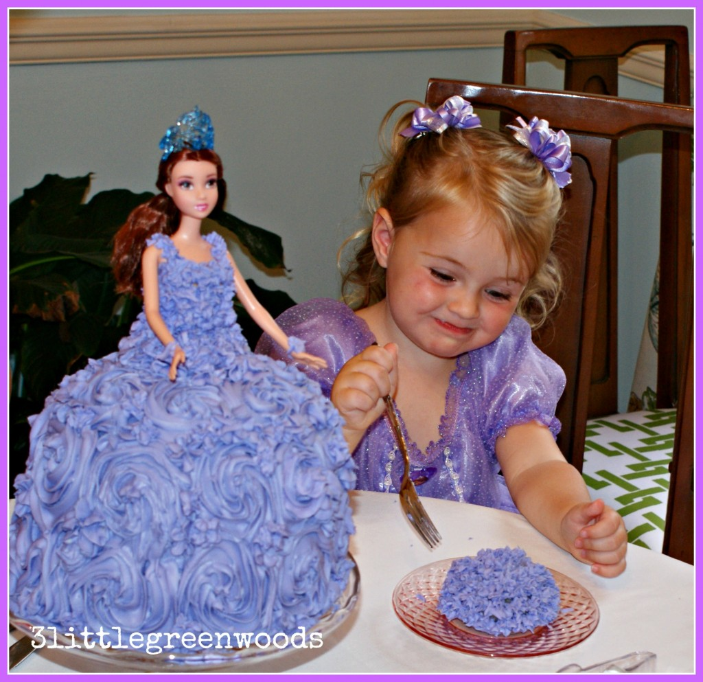 DIY Princess Cake