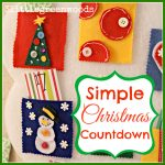 Simple Christmas Countdown Display (An Advent Calendar)