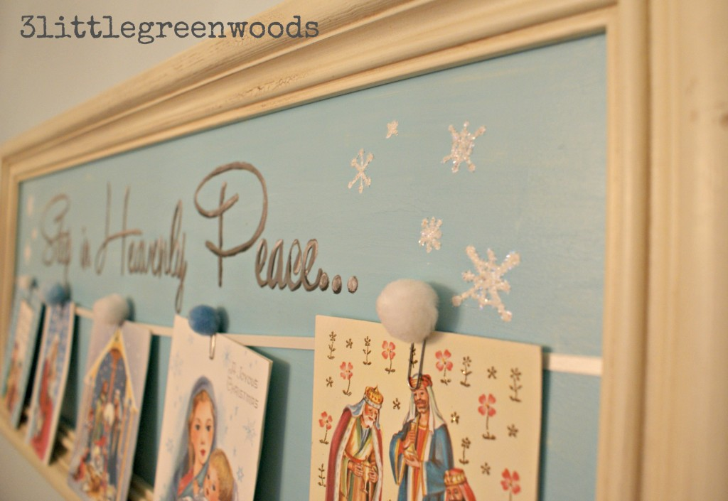Simple Christmas Sign @ 3littlegreenwoods