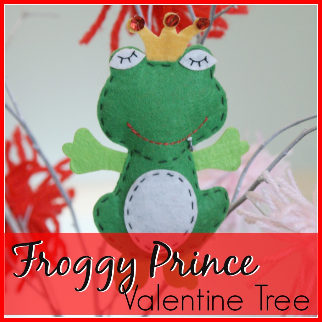 Froggy Prince Valentine Tree by 3littlegreenwoods