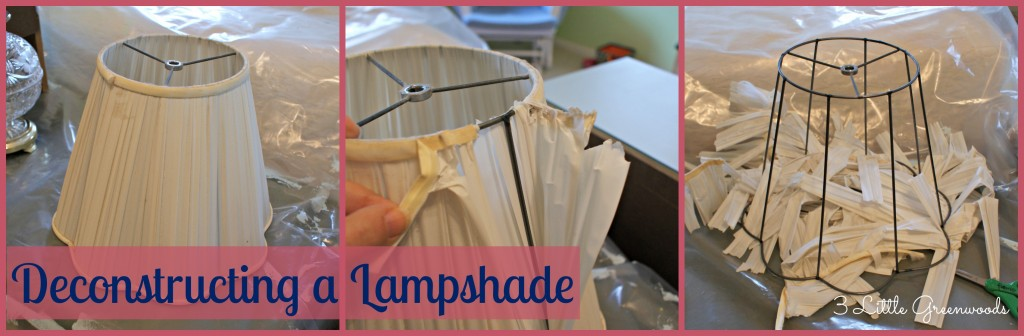 DIY Lampshade Makeover by 3 Little Greenwoods