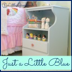 Just a Little Blue ~ Nightstands