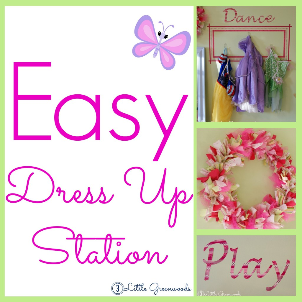diy dress up area