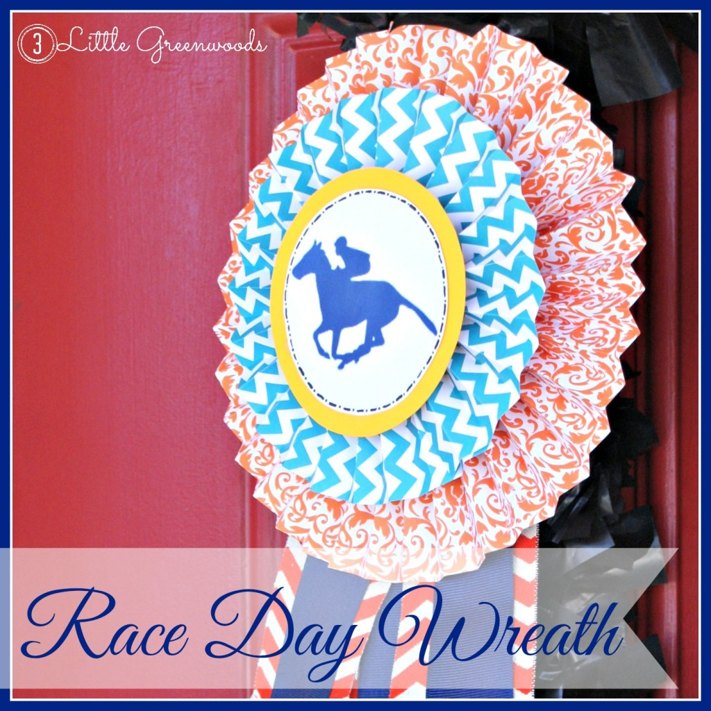 horse race wreath