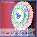 Race Day Wreath for Steeplechase Races