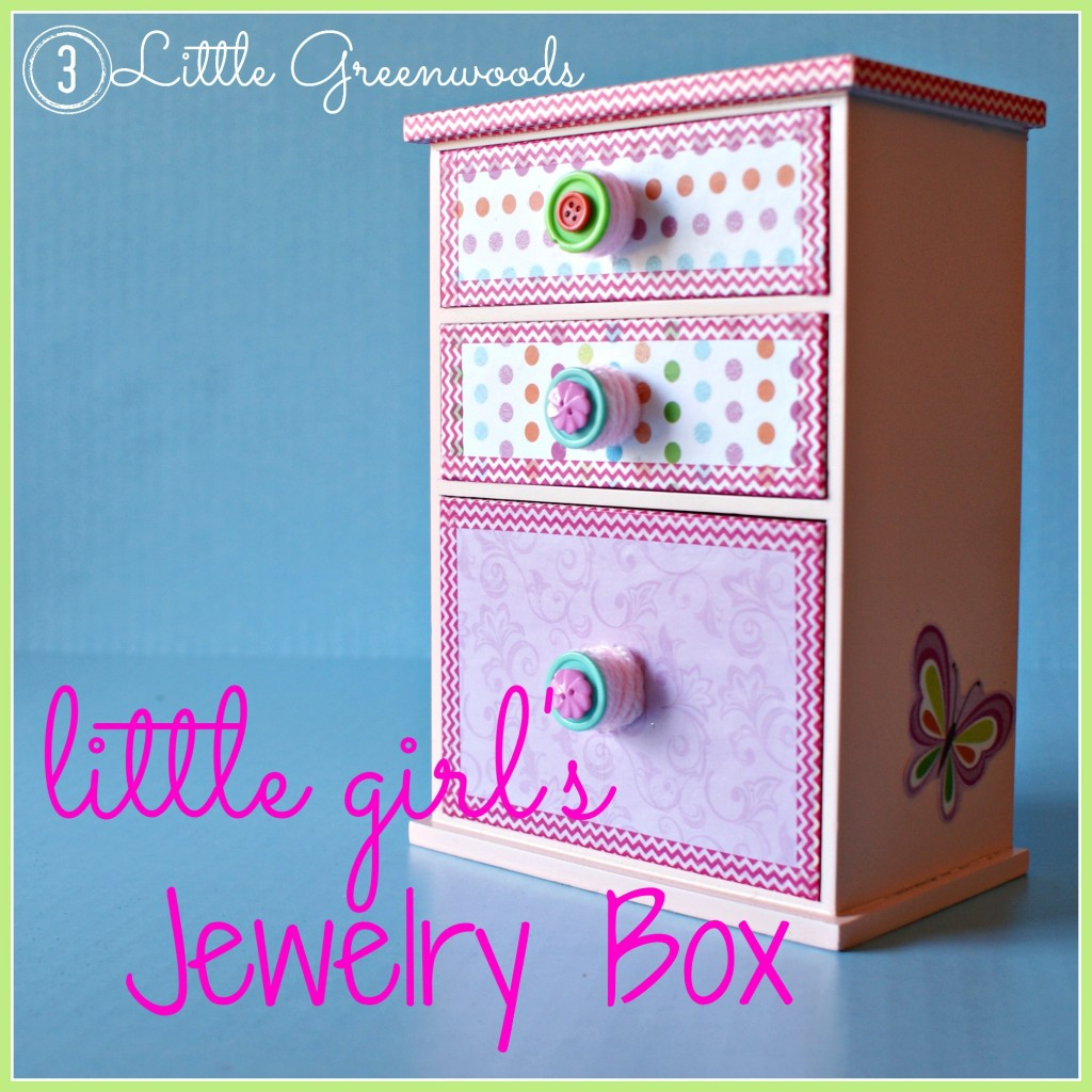 little girl jewelry box