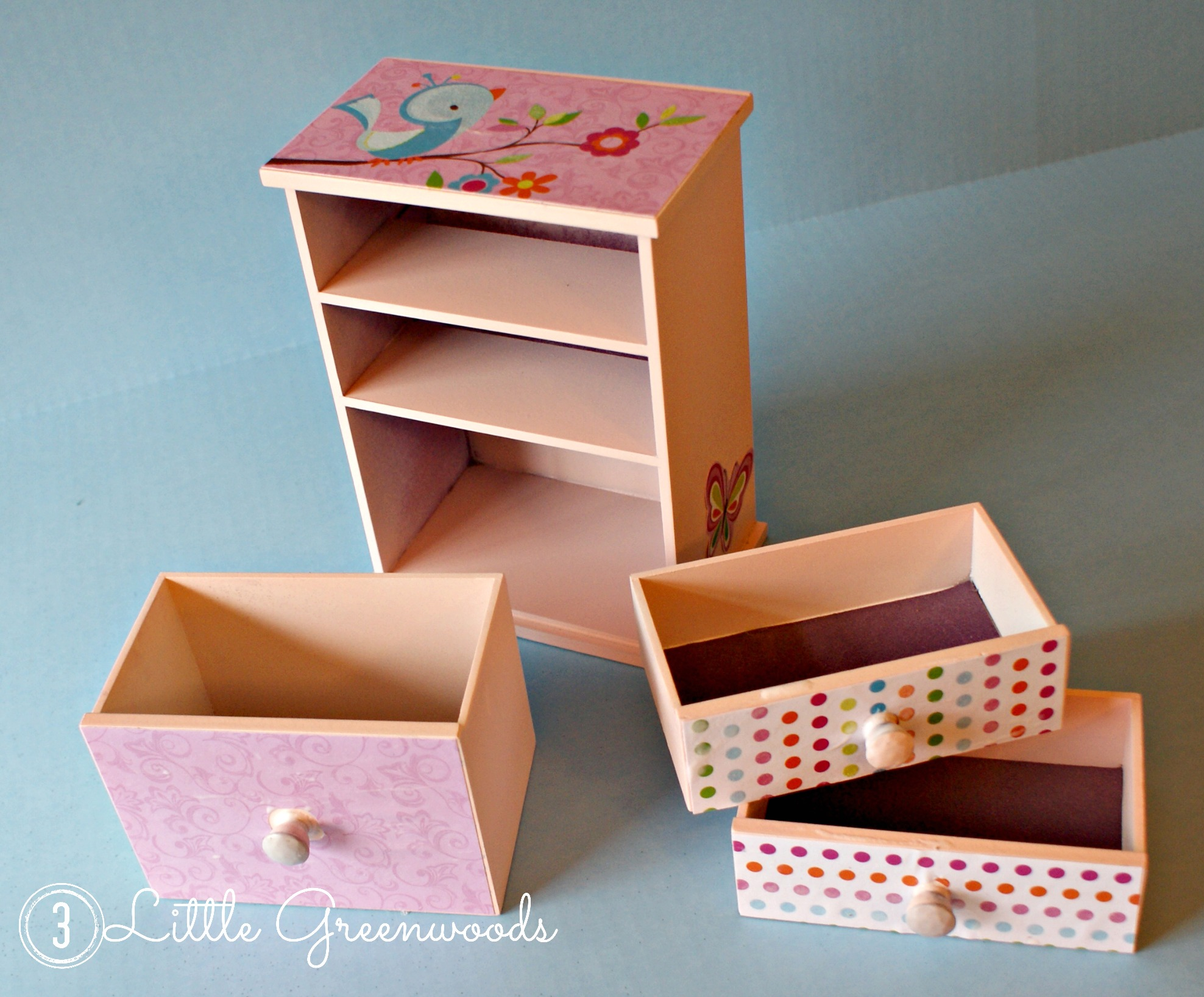Upcycled Little Girl S Jewelry Box 3 Little Greenwoods