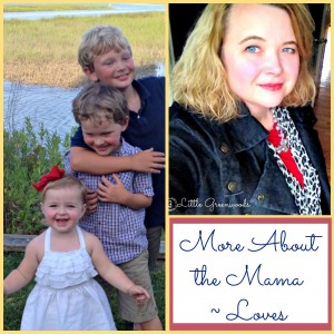 More about the Mama Mondays by 3 Little Greenwoods