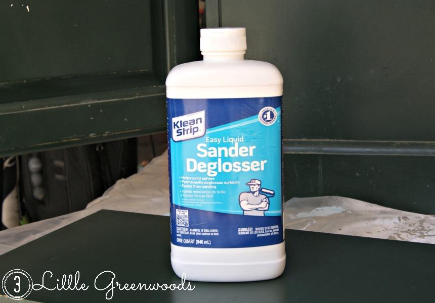 Sander Deglosser - works great!